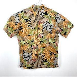 Tori Richard Men's Hawaiian Shirt Floral Aloha M